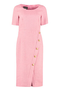 Tweed sheath dress, Knee Lenght Dresses Boutique Moschino woman