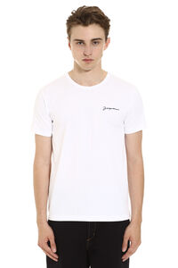 Crew-neck cotton t-shirt, Short sleeve t-shirts Jacquemus man