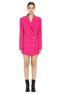 Embellished button blazer dress, Mini dresses The Attico woman