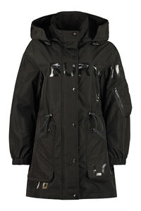 Techno nylon parka, Raincoats And Windbreaker Burberry woman