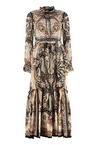 Printed georgette maxi-dress, Printed dresses Etro woman