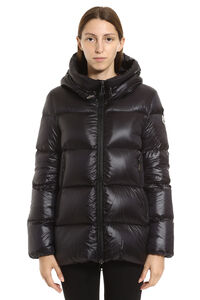 Seritte hooded short down jacket, Down Jackets Moncler woman