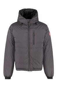 Lodge full zip padded hooded jacket, Down jackets Canada Goose man