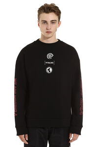 Printed cotton sweatshirt, Sweatshirts PTRCRS man