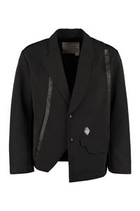 Techno fabric jacket, Single breasted blazers A-COLD-WALL* man