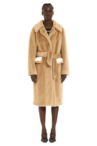 Oziare faux fur coat, Faux Fur and Shearling Pinko woman