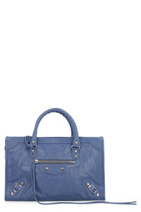 Classic City S leather handbag, Top handle Balenciaga woman
