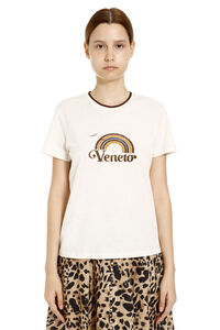 Veneto printed cotton T-shirt, T-shirts Zimmermann woman