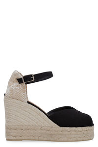 Bianca jute wedge espadrilles, Wedges Castaner woman