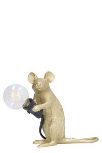 Mouse Lamp Sitting - Seletti+Marcantonio, Lighting Seletti woman