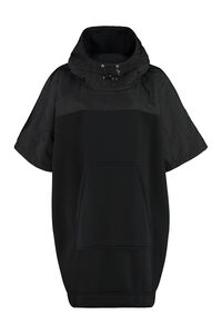 Hooded cape-coat, Capes Moncler woman