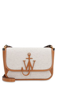 Braided Anchor canvas and leather crossbody bag, Shoulderbag JW Anderson woman