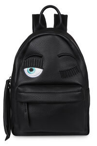 Flirting faux leather backpack, Backpack Chiara Ferragni Collection woman