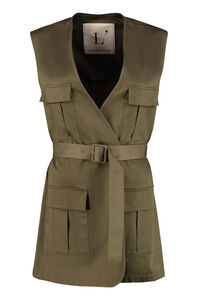 Cotton waist coat, Vests and Gilets L'Autre Chose woman