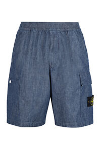 Denim shorts, Shorts Stone Island man