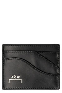 Small leather flap-over wallet, Wallets A-COLD-WALL* man