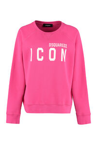 Icon cotton sweatshirt, Sweatshirts Dsquared2 woman