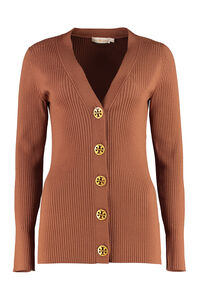 Simone wool cardigan with decorative buttons, Cardigan Tory Burch woman