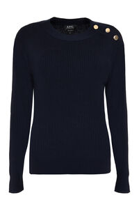 Paola ribbed pullover, Crew neck sweaters A.P.C. woman