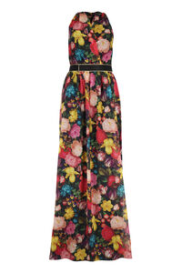 Paggio printed silk dress, Gowns & Evening dresses Max Mara woman