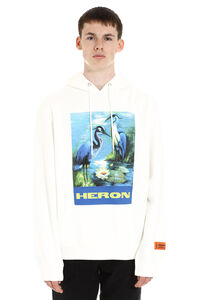 Printed cotton sweatshirt, Hoodies Heron Preston man
