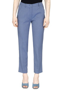 Hateley jacquard motif trousers, Straight Leg pants Weekend Max Mara woman
