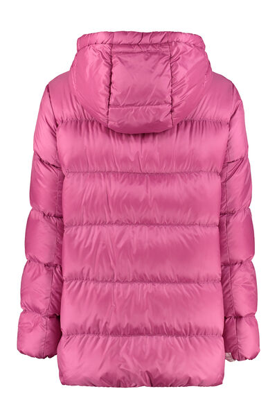 Seicar down jacket with snaps