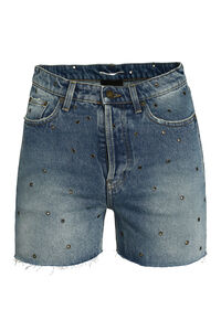 Shorts in denim, Bermuda Saint Laurent man