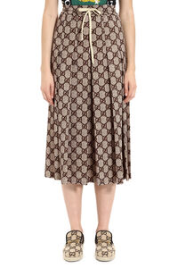 Printed pleated skirt, Pleated skirts Gucci woman