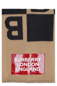 Wool and cashemre scarf, Scarves Burberry man