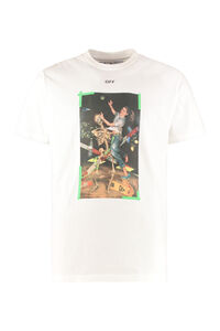 Stretch cotton T-shirt, Short sleeve t-shirts Off-White man