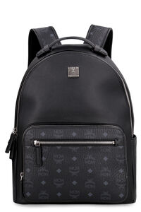 Stark leather backpack, Backpack MCM woman
