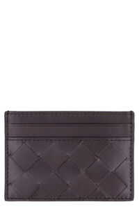 Intrecciato card holder, Wallets Bottega Veneta woman
