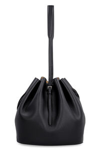 Leather bucket bag, Bucketbag Jil Sander woman