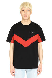 Two-tone cotton T-shirt, Short sleeve t-shirts Givenchy man