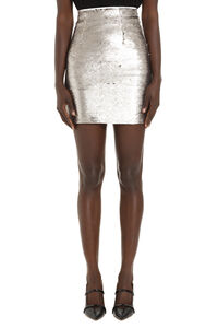 Listare sequin mini skirt, Mini skirts Pinko woman