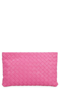 Intrecciato Nappa flat pouch, What's new Bottega Veneta woman