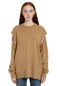 Crew-neck wool sweater, Crew neck sweaters Maison Margiela woman
