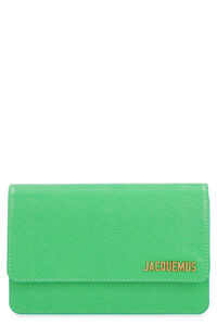 Le Riviera leather crossbody bag, Clutch Jacquemus woman
