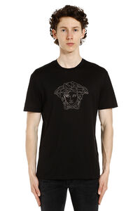 Medusa Icon crew-neck t-shirt, Short sleeve t-shirts Versace man