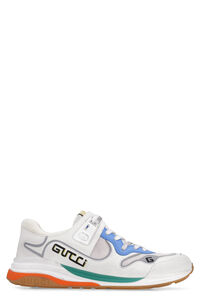 Ultrapace leather and fabric low-top sneakers, Low Top Sneakers Gucci man