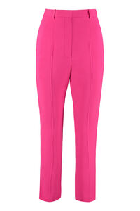 High-waist crêpe trousers, Straight Leg pants Alexander McQueen woman