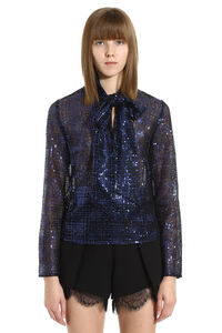 Sequined top, Blouses Self-Portrait woman