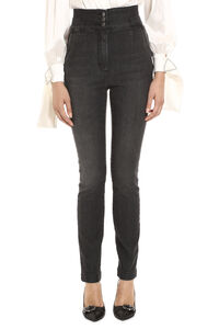High-rise slim fit jeans, Skinny Leg Jeans Dolce & Gabbana woman