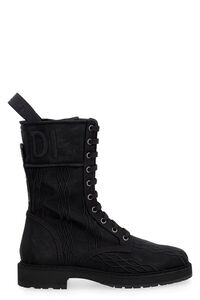 Fabric combat boots, Ankle Boots Fendi woman