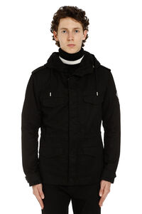 Gabardine military parka, Parkas Saint Laurent man