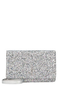 Palace glitter fabric clutch, Clutch Jimmy Choo woman