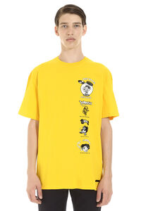 Printed cotton short sleeve T-shirt, Short sleeve t-shirts Buscemi man