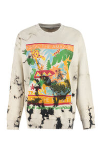 Rainforest printed cotton sweatshirt - STELLA MCCARTNEY X Greenpeace, Sweatshirts Stella McCartney woman