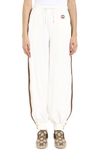 Track-pants with decorative stripes, Track Pants Gucci woman